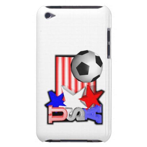 Estrellas de fútbol de los E.E.U.U. iPod iPod Case-Mate Carcasa