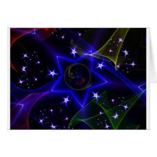 Estrellas de giro tarjeton