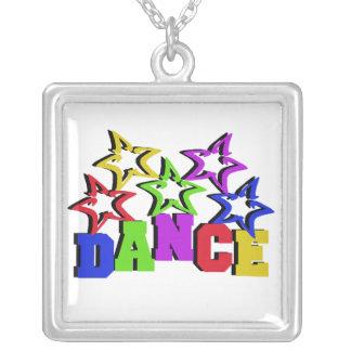Estrellas de la danza colgante cuadrado
