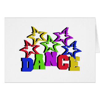 Estrellas de la danza felicitaciones