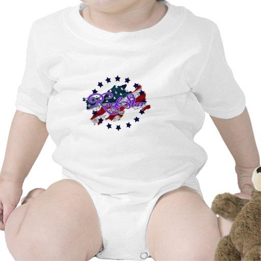 Estrellas de la estrella del rock. .png camisetas