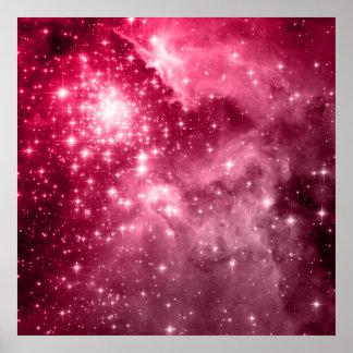 Estrellas de la frambuesa posters
