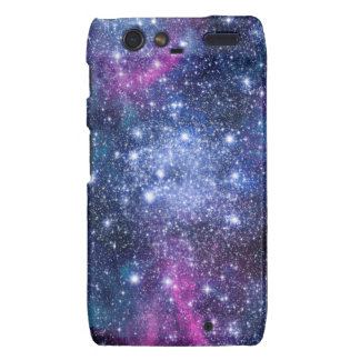 Estrellas de la galaxia motorola droid RAZR carcasa