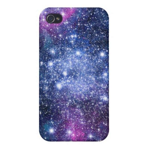 Estrellas de la galaxia iPhone 4 funda