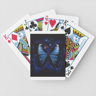 Estrellas de la mariposa baraja de cartas