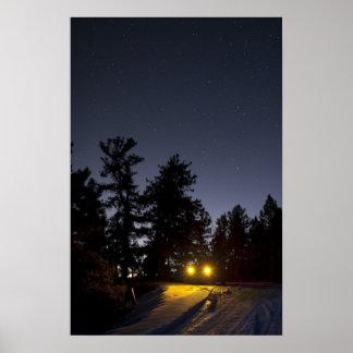 Estrellas de la noche póster