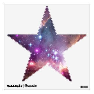 Estrellas de la opinión de la galaxia vinilo adhesivo