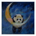 Estrellas de la panda póster