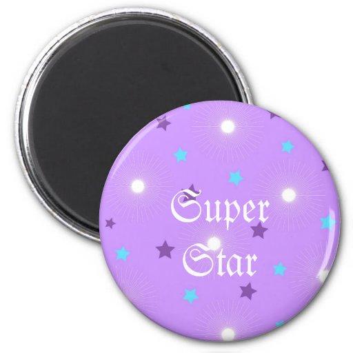 Estrellas de la púrpura - imán