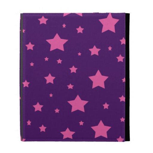 Estrellas de la púrpura y del rosa