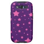 estrellas de la púrpura y del rosa galaxy SIII protectores