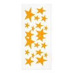 Estrellas de la señal del color lona personalizada