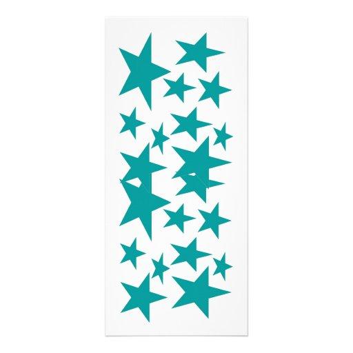 Estrellas de la señal del color tarjetas publicitarias personalizadas