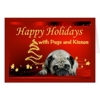 Estrellas de la tarjeta de Navidad del barro amasa