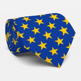 Estrellas de la UE del OPUS Corbata Personalizada