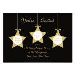 Estrellas de las invitaciones de la casa abierta invitación personalizada