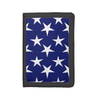 Estrellas de los azules marinos y del blanco; Patr