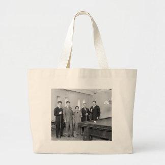 Estrellas de los billares: 1927 bolsa tela grande