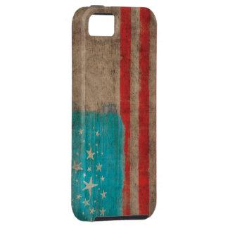 Estrellas de los E.E.U.U. y rojo rayado iPhone 5 Fundas