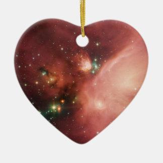 Estrellas de los jóvenes de NASAs Adorno De Cerámica En Forma De Corazón