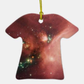 Estrellas de los jóvenes de NASAs Adorno De Cerámica En Forma De Camiseta