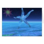 Estrellas de mar abstractas tarjetas