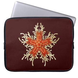 Estrellas de mar adaptables de Haeckel del vintage Funda Ordendadores