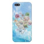 Estrellas de mar, cáscaras y perlas lindas del ver iPhone 5 fundas