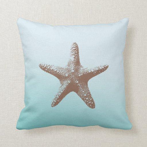 Estrellas de mar cojines