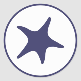Estrellas de mar de la marina de guerra etiquetas