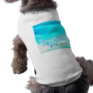 Estrellas de mar de la ropa del mascota ropa macota