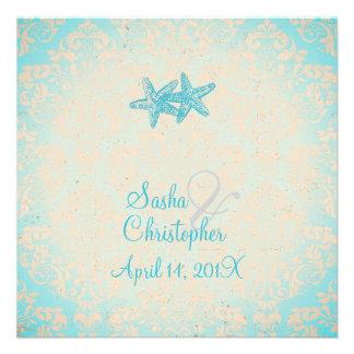 Estrellas de mar de PixDezines + invitaciones del Invitacion Personalizada
