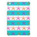 Estrellas de mar del tema de la playa del verano e iPad mini carcasas