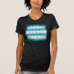 Estrellas de mar del tema de la playa del verano camiseta