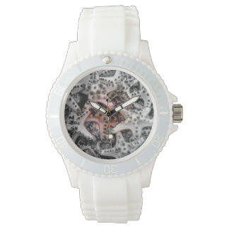 Estrellas de mar deportivas reloj de mano
