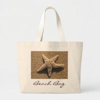 Estrellas de mar en la playa bolsa