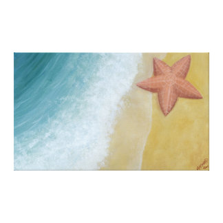 Estrellas de mar lona envuelta para galerias