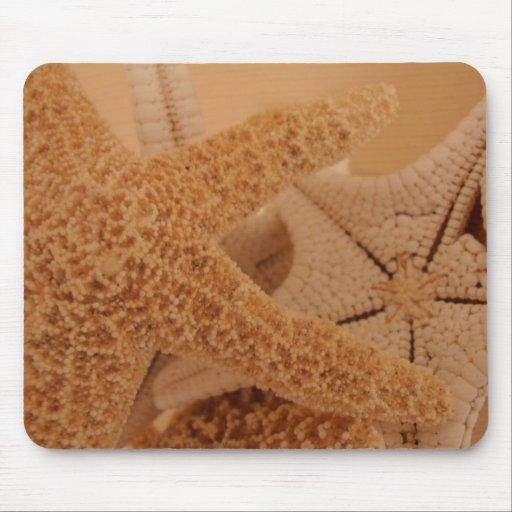 Estrellas de mar Mousepad