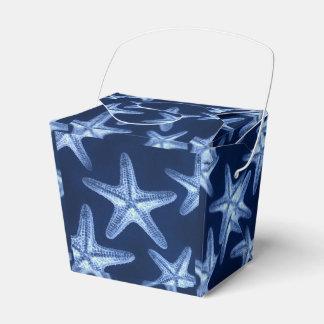 estrellas de mar náuticas elegantes lamentables cajas para regalos de boda
