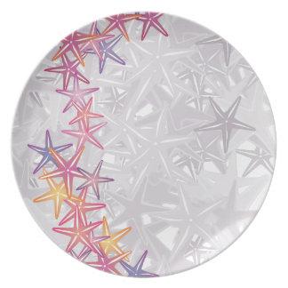 Estrellas de mar platos para fiestas