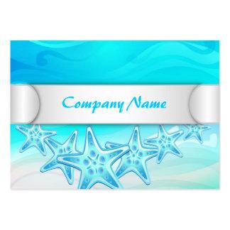 Estrellas de mar rechonchas de la tarjeta de visit tarjetas de negocios