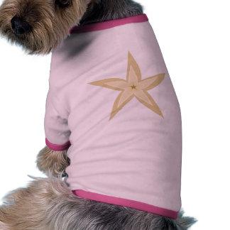 Estrellas de mar camisa de mascota