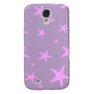Estrellas de mar rosadas 3G/3GS Funda Para Galaxy S4