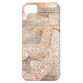 Estrellas de mar rústicas Brown iPhone 5 Case-Mate Cárcasa