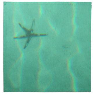 Estrellas de mar servilletas de papel