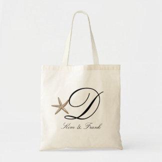 Estrellas de mar simples bolsa tela barata