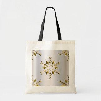 Estrellas de oro del navidad bolsa tela barata