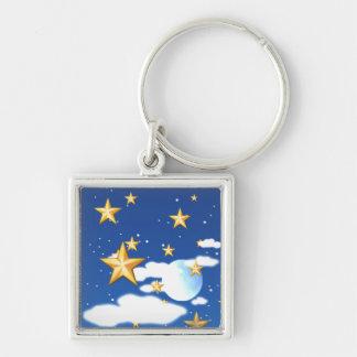 Estrellas de oro - llaveros