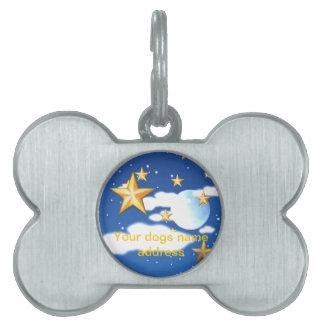Estrellas de oro - placa mascota
