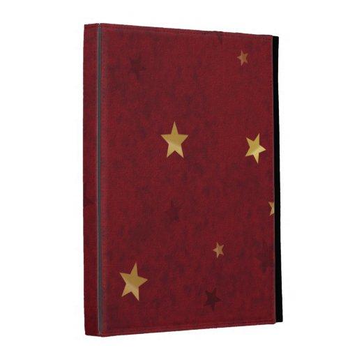 Estrellas de oro rojas reales